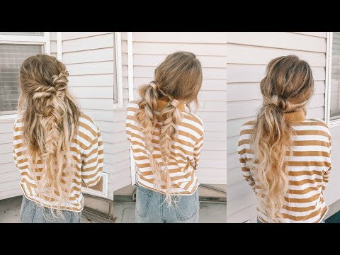 EASY HAIRSTYLES FOR SCHOOL | Marla Catherine