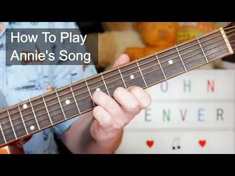'Annie's Song' John Denver Acoustic Guitar Lesson