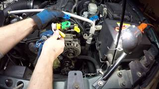 How To Disconnect Fuel Line from Fuel Rail