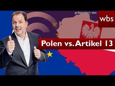 Polen klagt gegen Artikel 13 vor EuGH | Rechtsanwalt Christian Solmecke