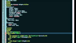 How to Make a Bitcoin Price Widget Javascript, PHP, CSS & HTML