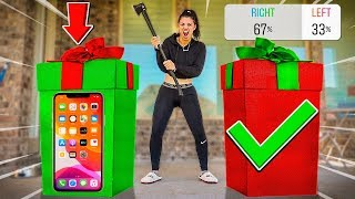 DON'T CRUSH THE WRONG MYSTERY PRESENT (TV, iPHONE)