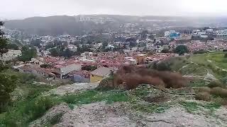 Deslizamiento pone en riesgo fracc.Cumbres del Sol,Tijuana,Baja California