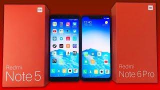 Xiaomi Redmi Note 5 vs Xiaomi Redmi Note 6 Pro - ЧТО ВЫБРАТЬ И В ЧЕМ ОТЛИЧИЯ
