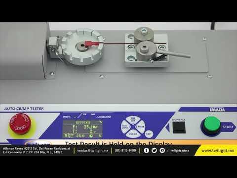 IM-ACT220 Medidor de crimpado motorizado