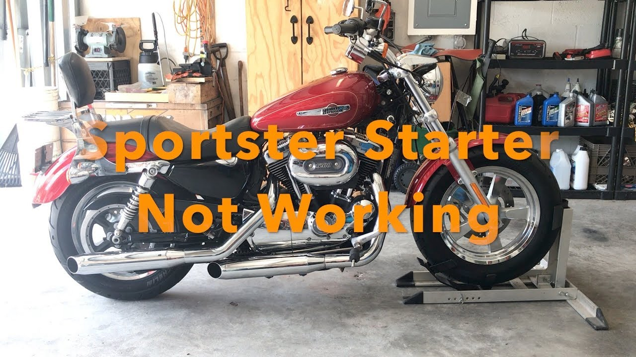 Harley Sportster Starter Not Working