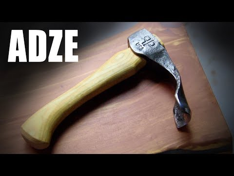Forging an Adze - Blacksmithing