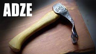 Forging an Adze - Blacksmithing