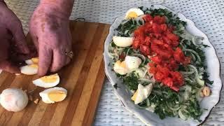 Antalya usulü tahin soslu nefis piyazı denediniz mi?