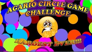 ♥AGARIO♥ Hardest Agario Mod Ever? Solo Circle Game Challenge + Funny Moments