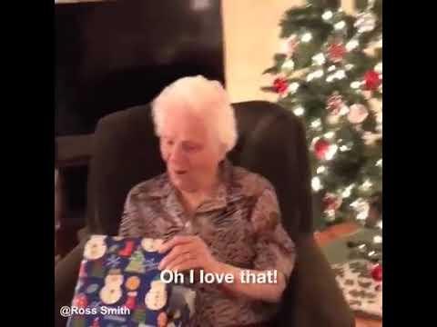 My Grandma 91st Christmas Gift Youtube