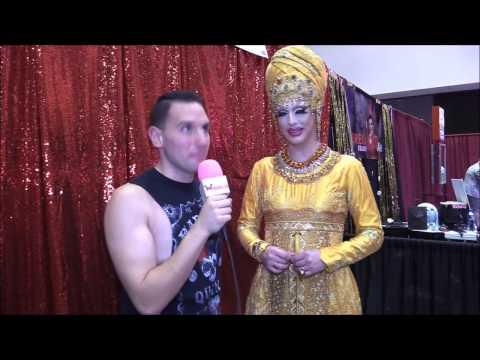 Sidney interviews Robbie Turner at DragCon 2017 for WERRRK.com!