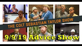 Colt Sebastian Taylor Show - Live Advice Show for Philly Free Fringe - 9/9/19