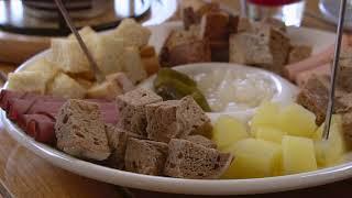 Cheese & Fondue at Belgian Café