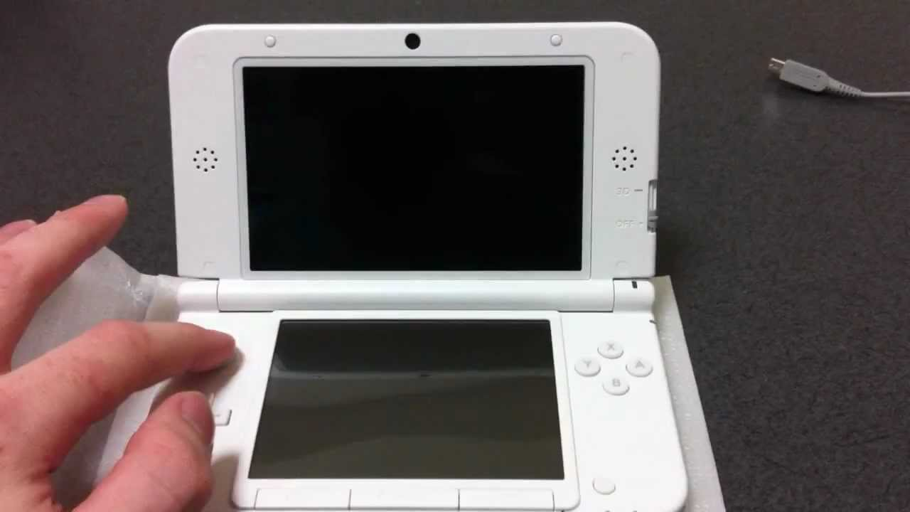 Nintendo 3ds Ll Xl White Unboxing And 3ds Ds Game Test Youtube