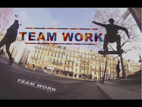 -Team Work Skateboarding- Paris 31/12/2014