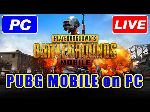 [LIVE] PUBG MOBILE on PC [公式エミュ]