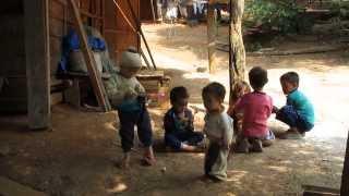 Hmong Village, Chomphet District, Luang Prabang, Laos