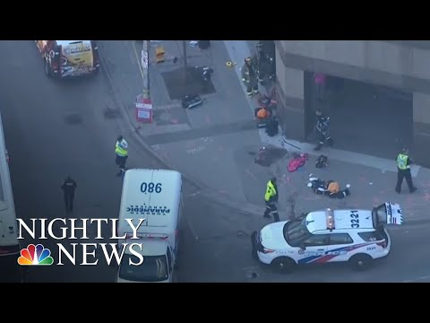 At Least 9 Dead, 16 Injured In Toronto After Van Strikes Pedestrians | NBC Nightly News