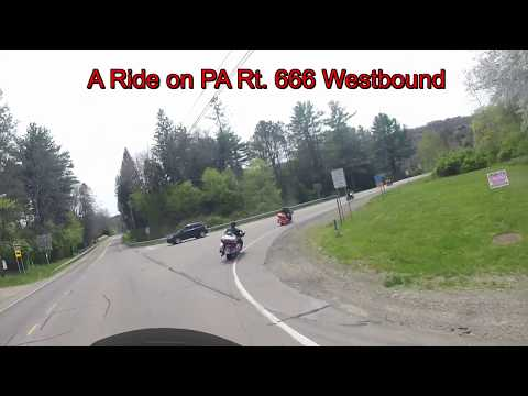 A Harley ride on Pennsylvania's Rt. 666