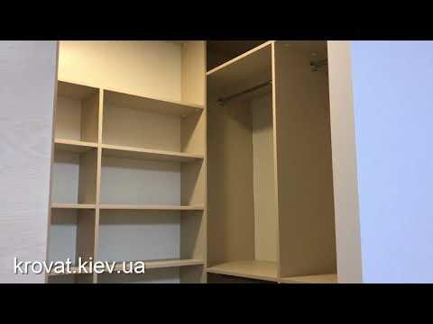 Гардеробная комната в маленькой спальне
