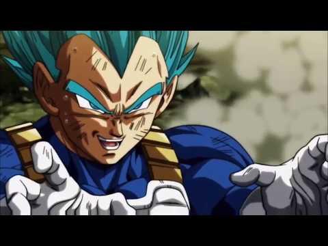 Vegeta's Final Flash vs Jiren (Super Saiyan Vegeta Theme)