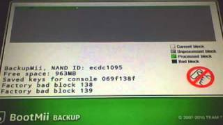 How to back up your Wii Nand