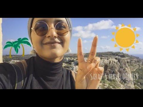 SARAH'S TRAVEL DIARY - MALTA | ASTON UNIVERSITY STUDENT VLOG