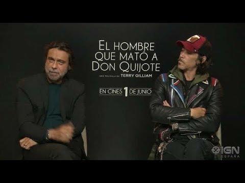 El Hombre que mato a Don Quijote: Jordi Mollá y Oscar Jaenada