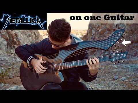 Dan Joyce - Fade To Black Metallica Cover on Harp Guitar
