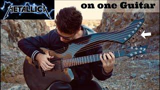 Fade to Black - (Metallica) - Harp Guitar Cover - Jamie Dupuis
