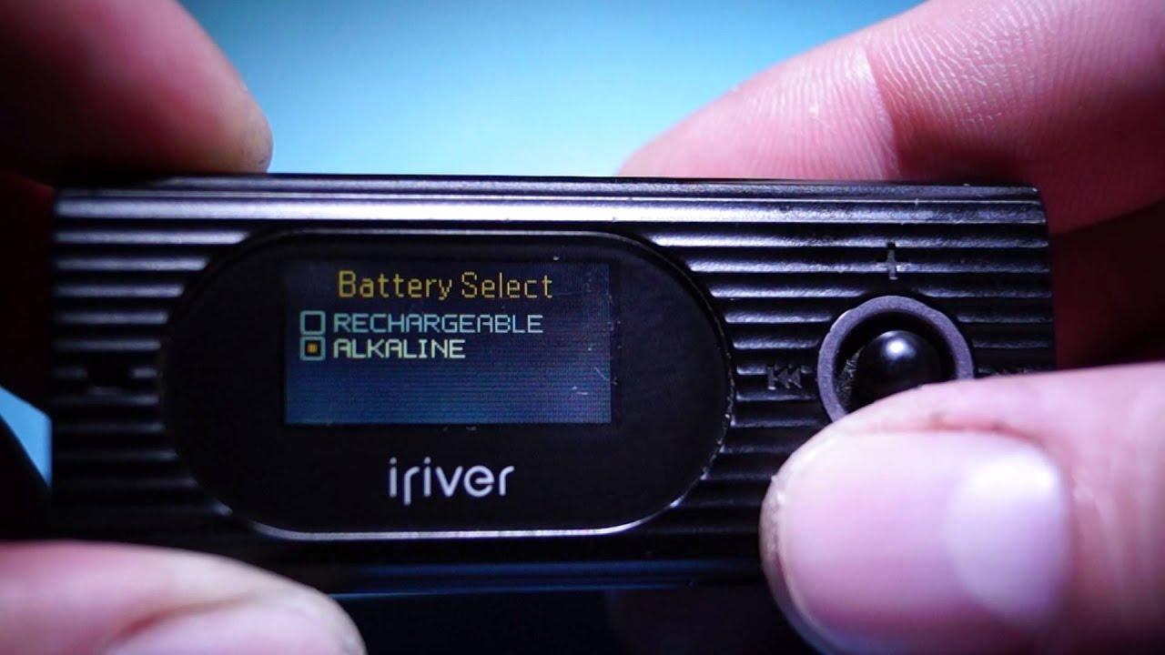 IRIVER MP3 T60 DRIVER DOWNLOAD
