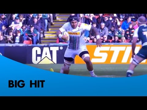 Biggest Hits Of The 2015/16 Aviva Premiership Rugby Season | Rugby Video Highlights