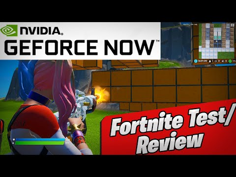 Fortnite On NEW Nvidia GeForce Now Review! Works Pretty Good!