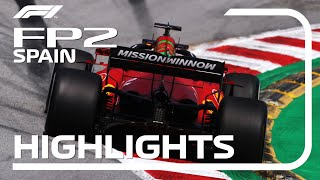 2021 Spanish Grand Prix: FP2 Highlights