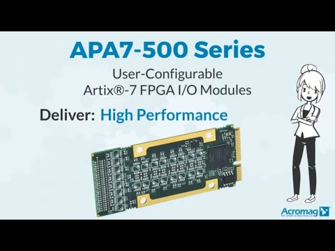 Acromag APA7-500 Series: User Configurable FPGA I/O Module