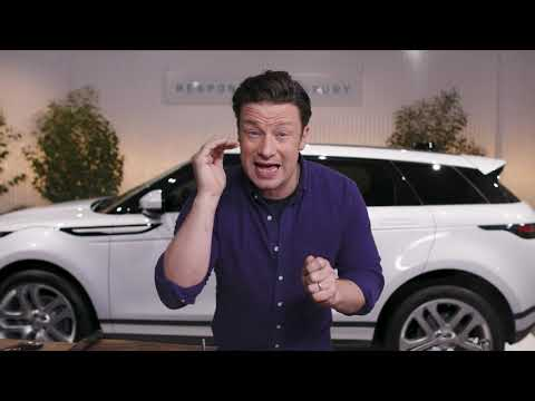 Jamie Oliver Drives the New Range Rover Evoque