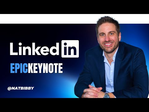 Epic Keynote - Nathanial Bibby on Growing a Business on Social Media 2021