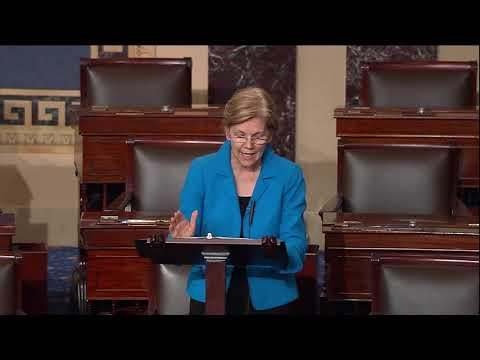 Senator Warren Speaks on the Republican Effort to Reverse the CFPB's Arbitration Rule