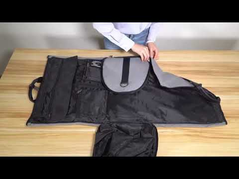 Convertible Garment Suit Travel Bag with 2 Shoe Bags