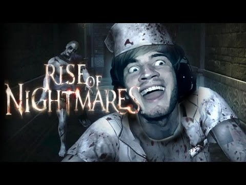CRAZY KINECT HORROR? - Rise Of Nightmares - Part 1