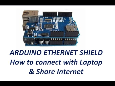 Ethernet Shield–Connecting with Laptop instead of direct