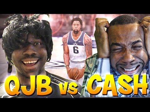 MTWars - QJB vs CASHNASTY! Game 1 NBA 2k16 My Team Tournament JERRY CURL IS BACK!