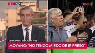 Nelson Castro analizó el discurso de cierre M
