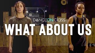 P Nk What About Us Pt 1 Brian Friedman Choreography Danceon Class