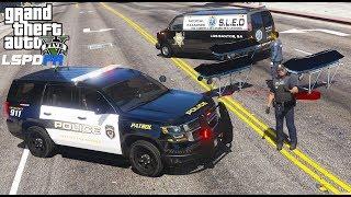 GTA 5 LSPDFR #647 Los Santos Police Tahoe Patrol - New Coroner