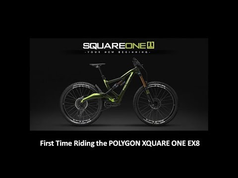 First Time Riding the Polygon XQUARE ONE EX8