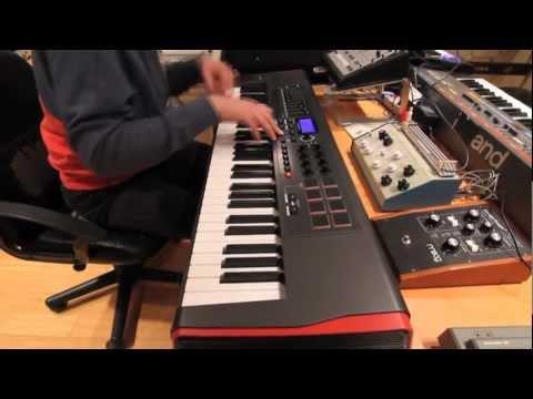 Novation // Impulse MIDI Controller with Nick Hook
