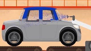 Мультфильм про машинки - Доктор Машинкова  - Как делают машинки? - развивающий  мультфильм для детей