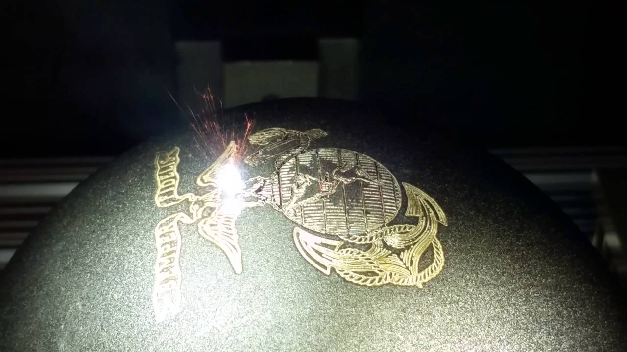 Laser Engraving And Marking On Curved Surfaces Youtube